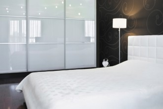 New modern bedroom interior